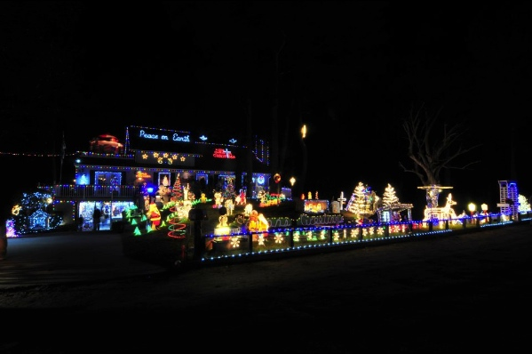 The Outer Banks Christmas House